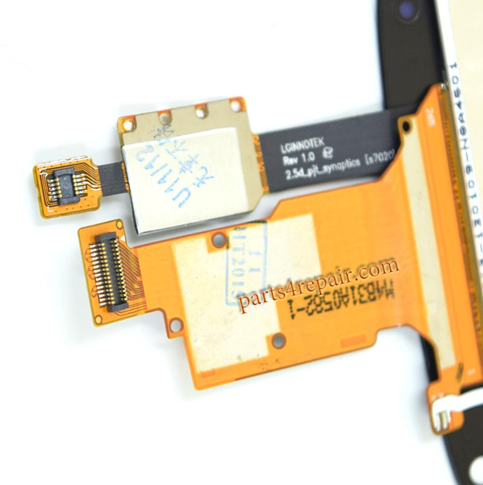 Complete Screen Assembly without Bezel for LG Nexus 4 E960