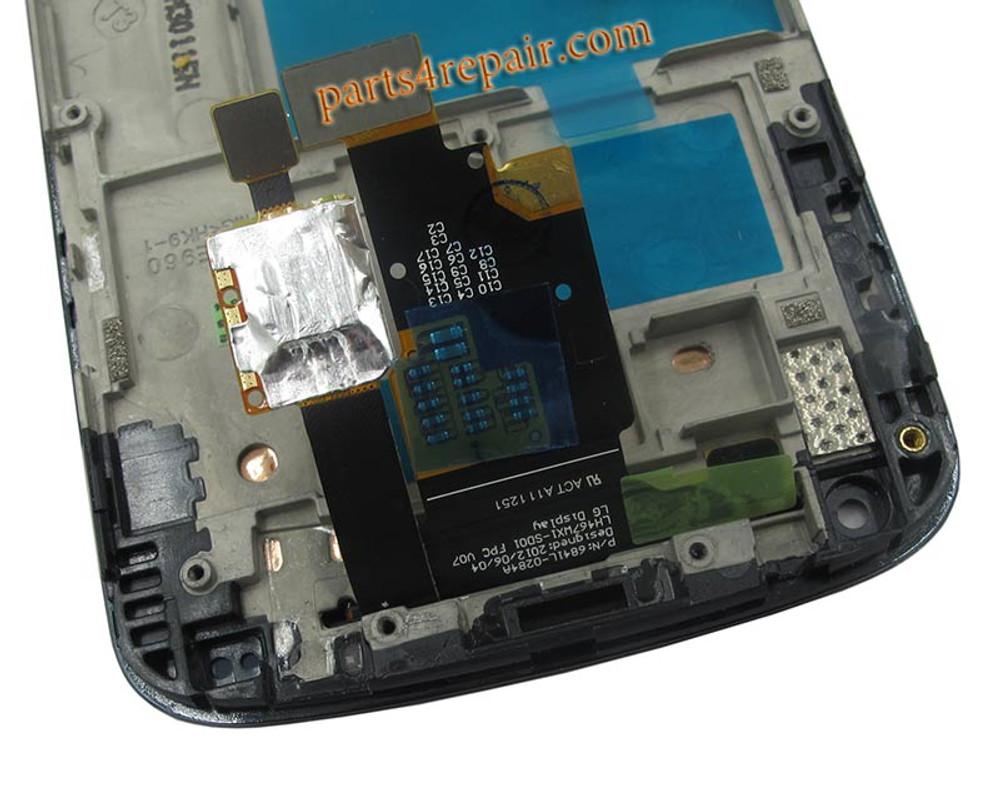 LG Nexus 4 E960 Full Screen Assembly with Bezel