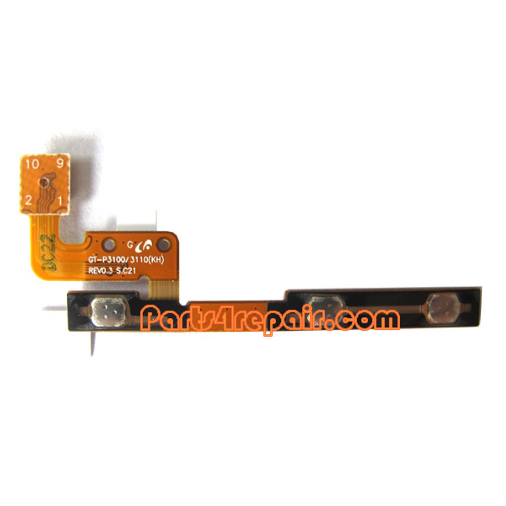 Samsung Galaxy Tab 2 7.0 P3100 Volume Flex Cable from www.parts4repair.com