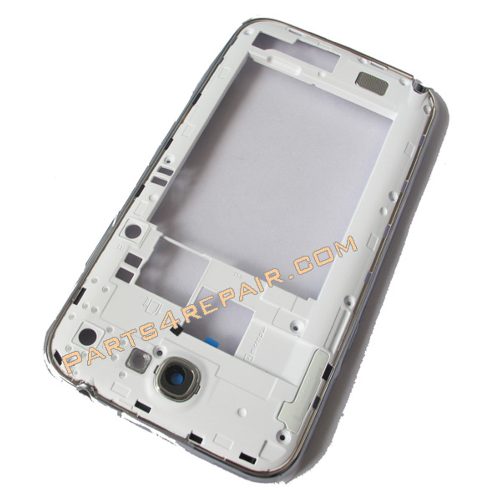 Samsung Galaxy Note II N7100 (T-Mobile) Middle Cover -White from www.parts4repair.com