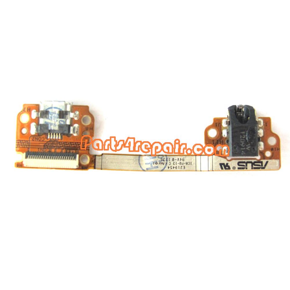 Asus Google Nexus 7 Dock Charging Connector Flex Cable from www.parts4repair.com