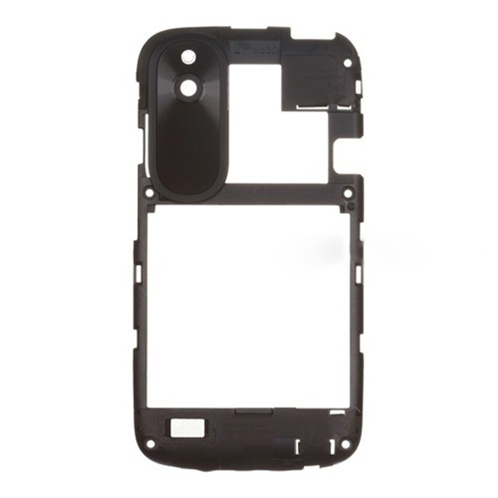 HTC Desire V Middle Cover -Black