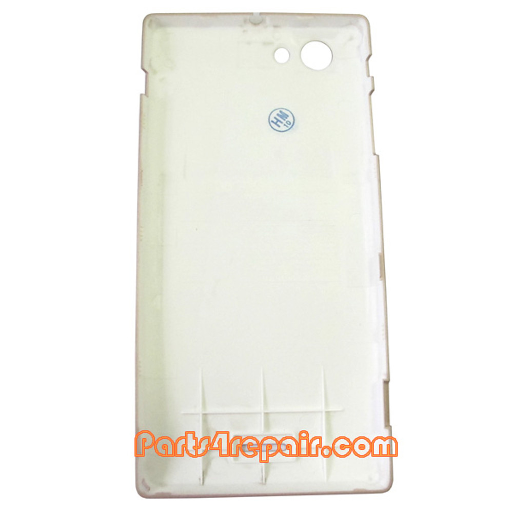 Back Cover for Sony Xperia J ST26I -Gold