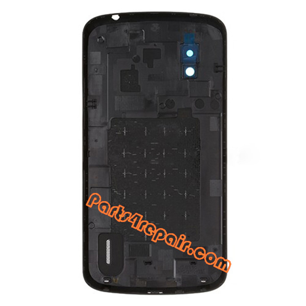 Back Cover for LG Nexus 4 E960 from www.parts4repair.com
