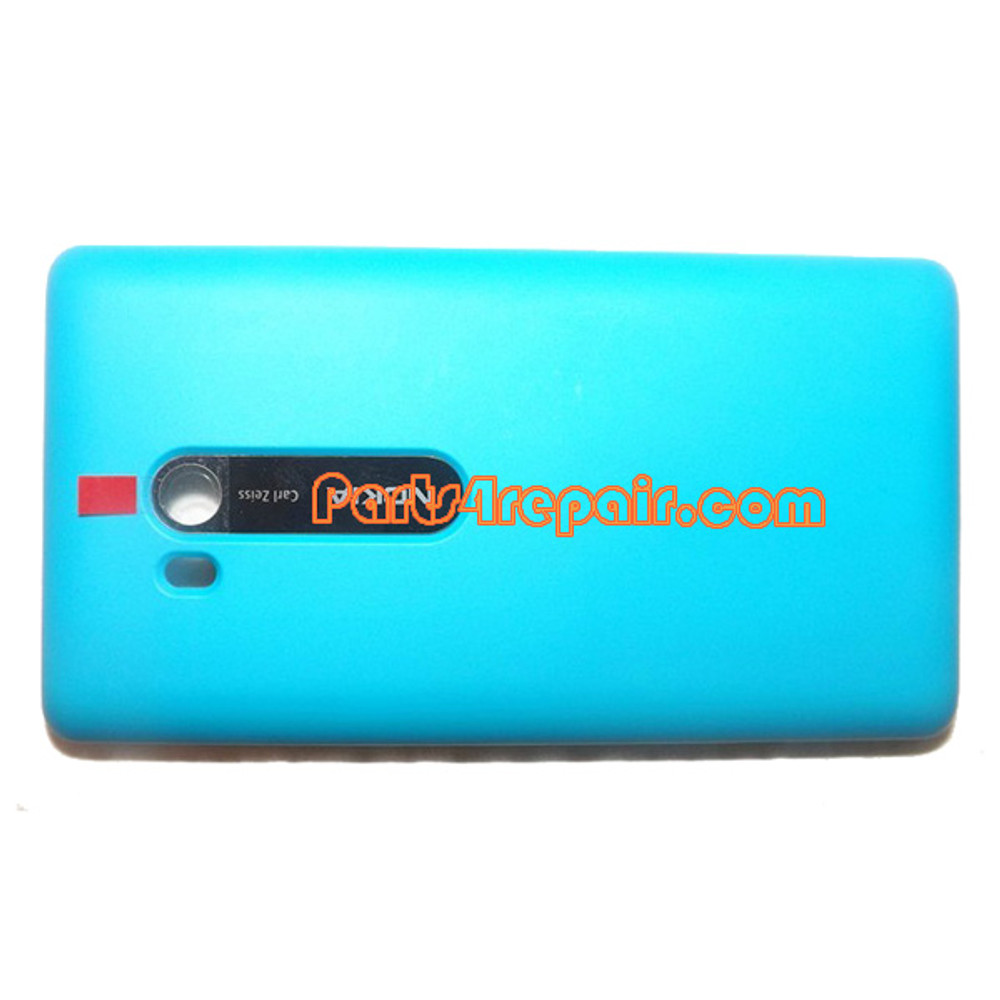 Back Cover without Wireless Charging Coil for Nokia Lumia 810 (T-Mobile) -Blue