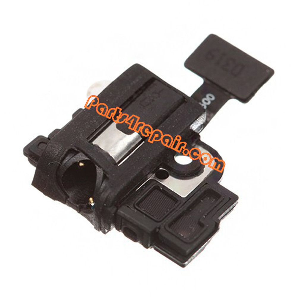 Earphone Jack Flex Cable for Samsung I9500 Galaxy S4 from www.parts4repair.com
