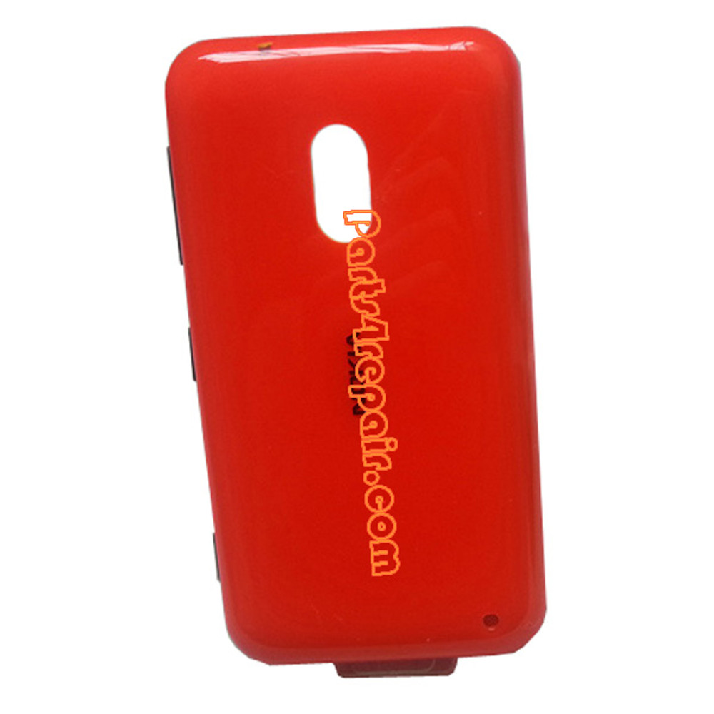 Back Cover for Nokia Lumia 620 -Orange from www.parts4repair.com