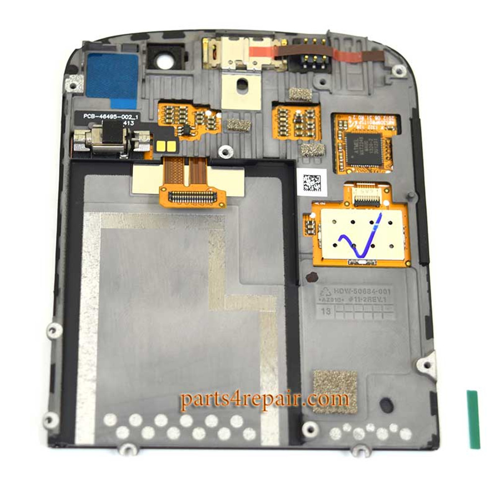 We can offer Complete Screen Assembly with Bezel for BlackBerry Q10