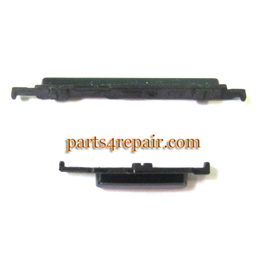 Side Keys for Samsung Galaxy Note N7000 -Black from www.parts4repair.com