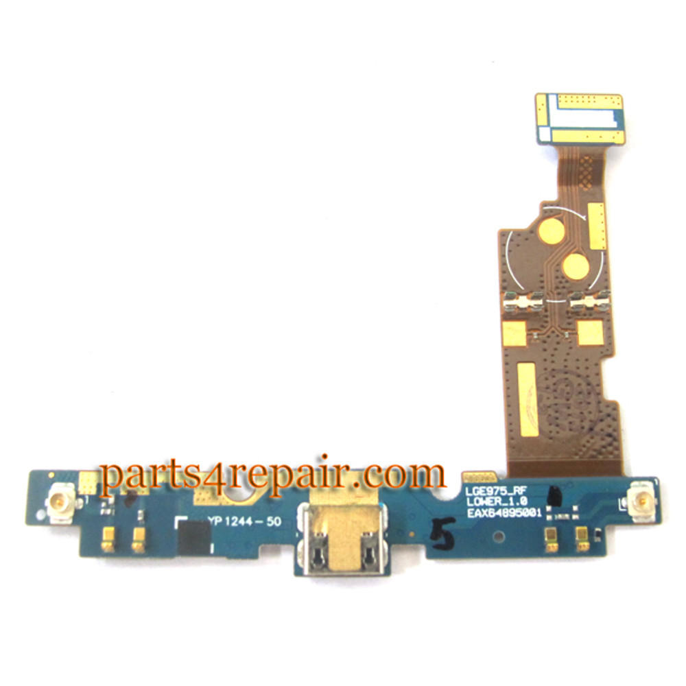 Dock Charging Port for LG Optimus G E975 from www.parts4repair.com