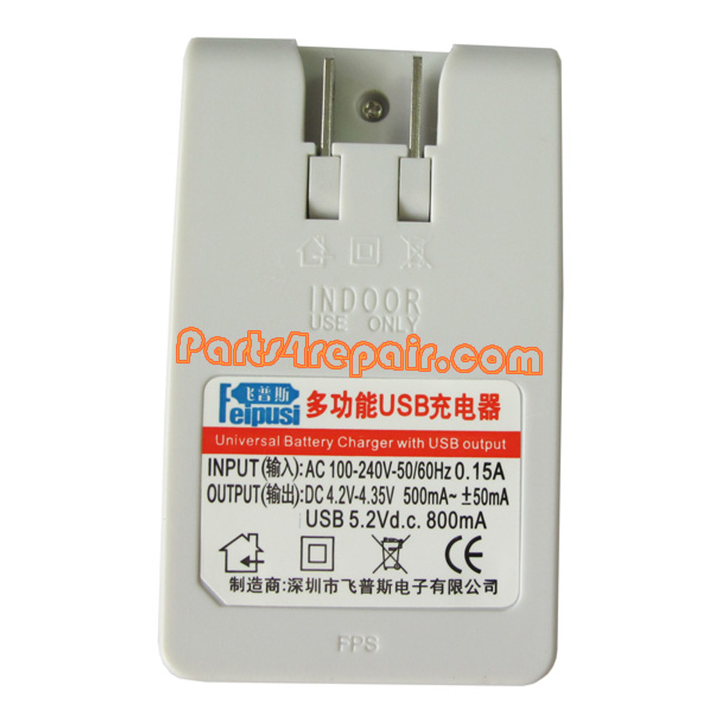 Battery Charger for Samsung Galaxy Note N7000/I9220 -White