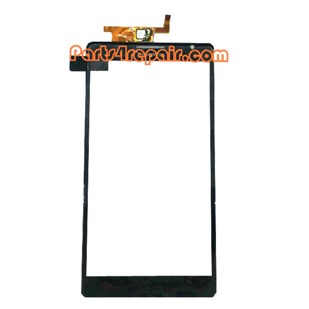 Touch Screen Digitizer for Huawei Ascend Mate MT1-U06 -Black from www.parts4repair.com