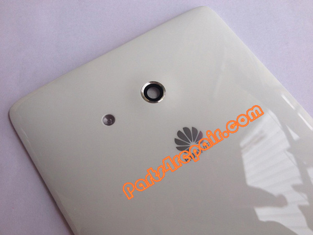 Back Cover for Huawei Ascend Mate MT1-U06 -White