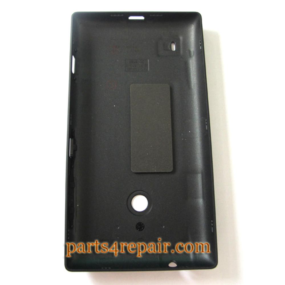 Back Cover for Nokia Lumia 520 -Black