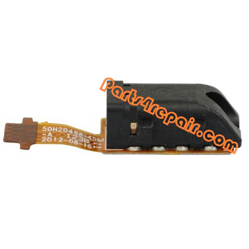 Earphone Jack Flex Cable for HTC Window Phone 8X
