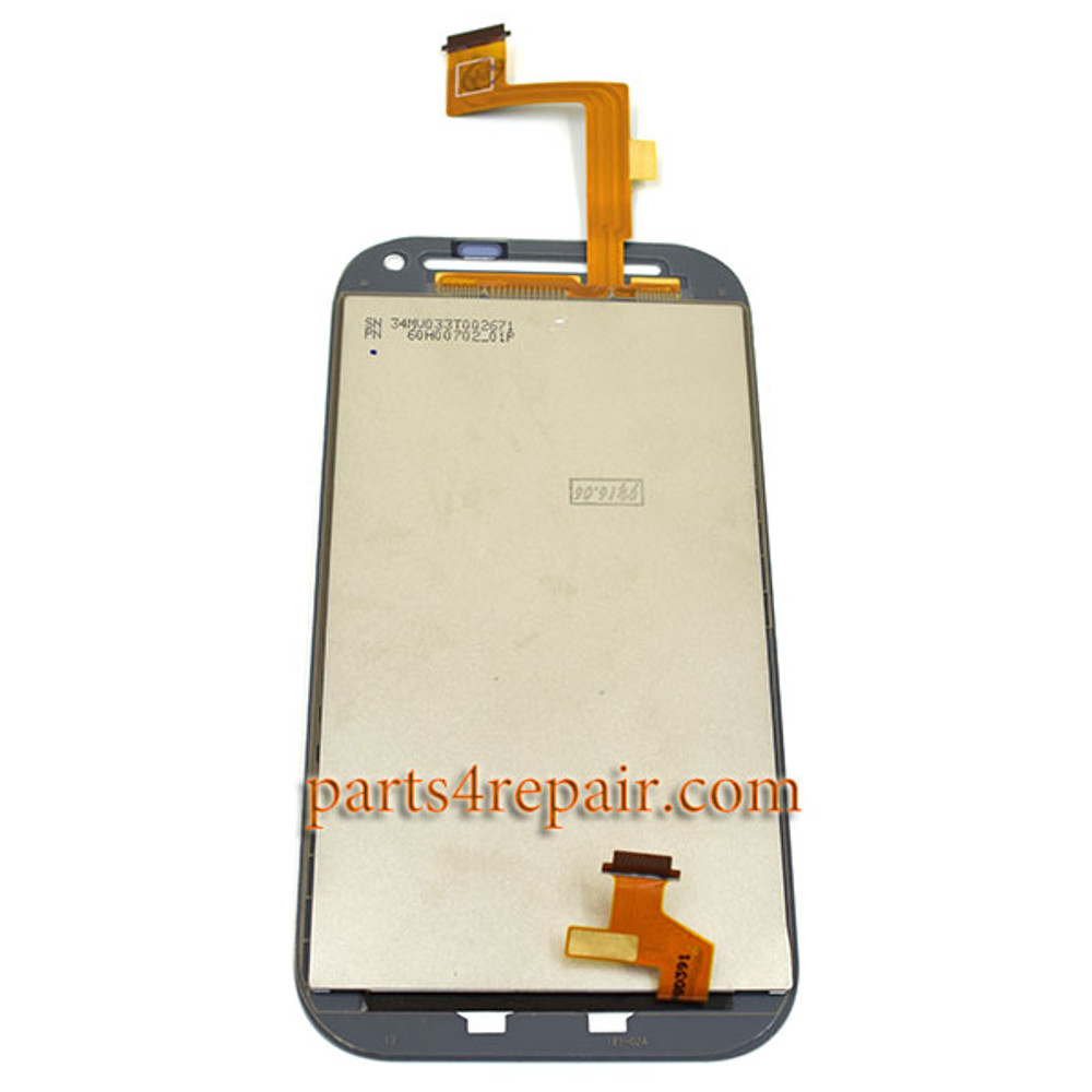 We can offer Complete Screen Assembly with LGP for HTC One SV -White