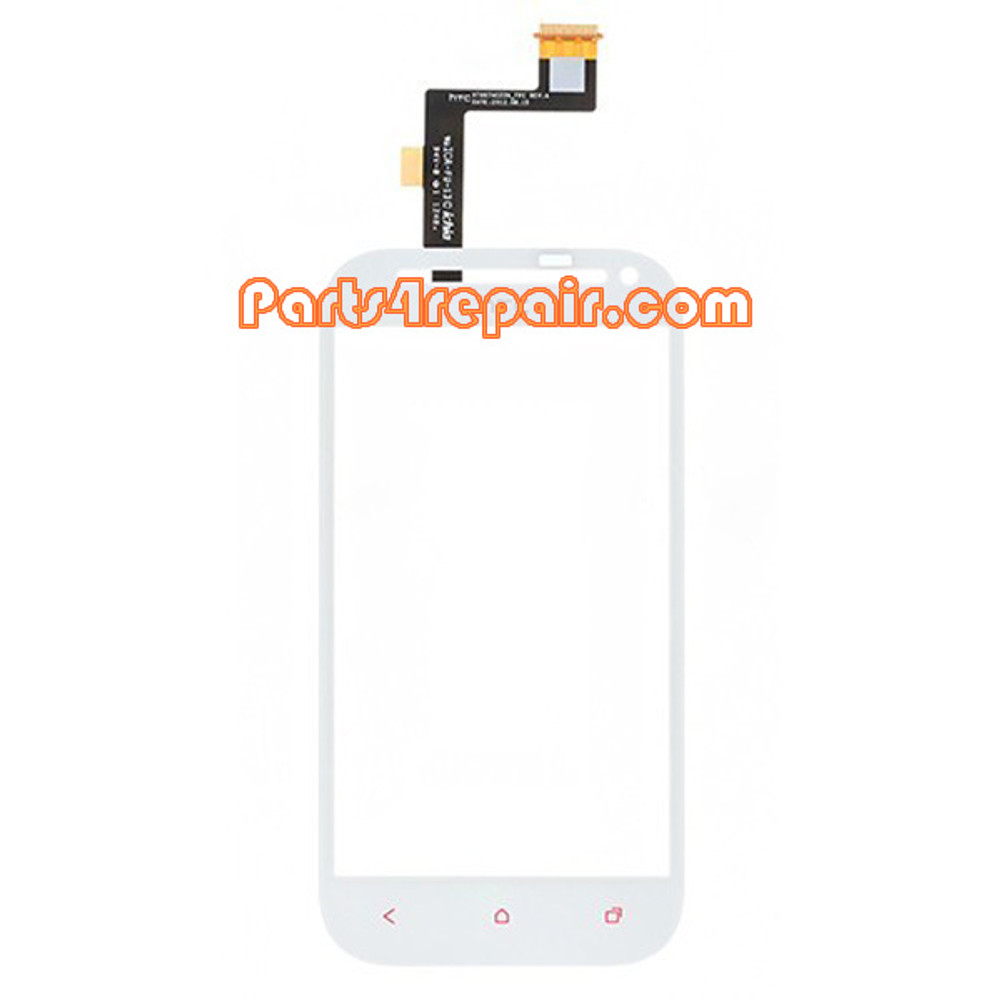 Touch Screen Digitizer for HTC One SV -White from www.parts4repair.com