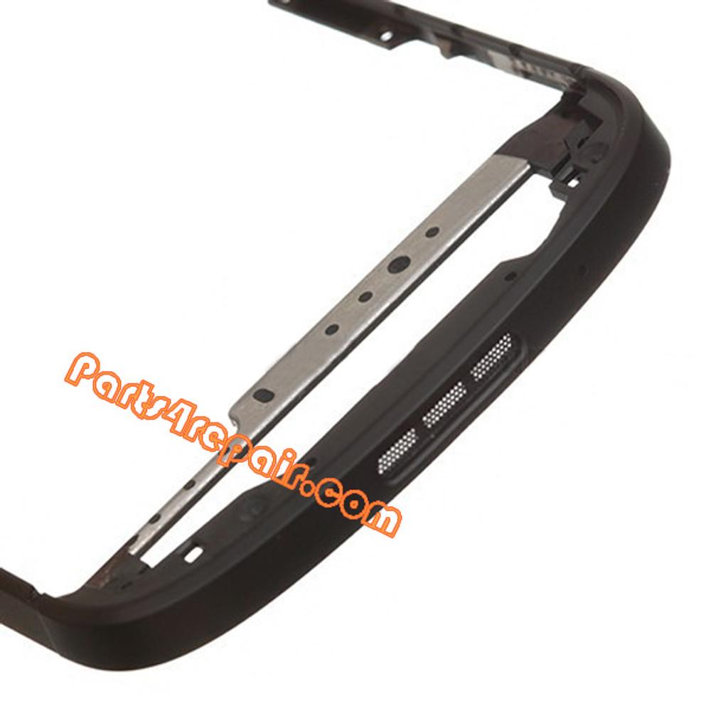 Middle Bezel for BlackBerry Q10 -Black