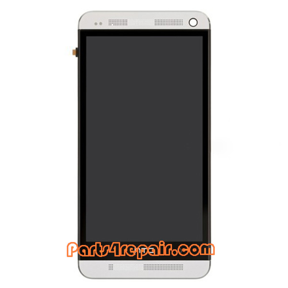 Complete Screen Assembly for HTC One from www.parts4repair.com