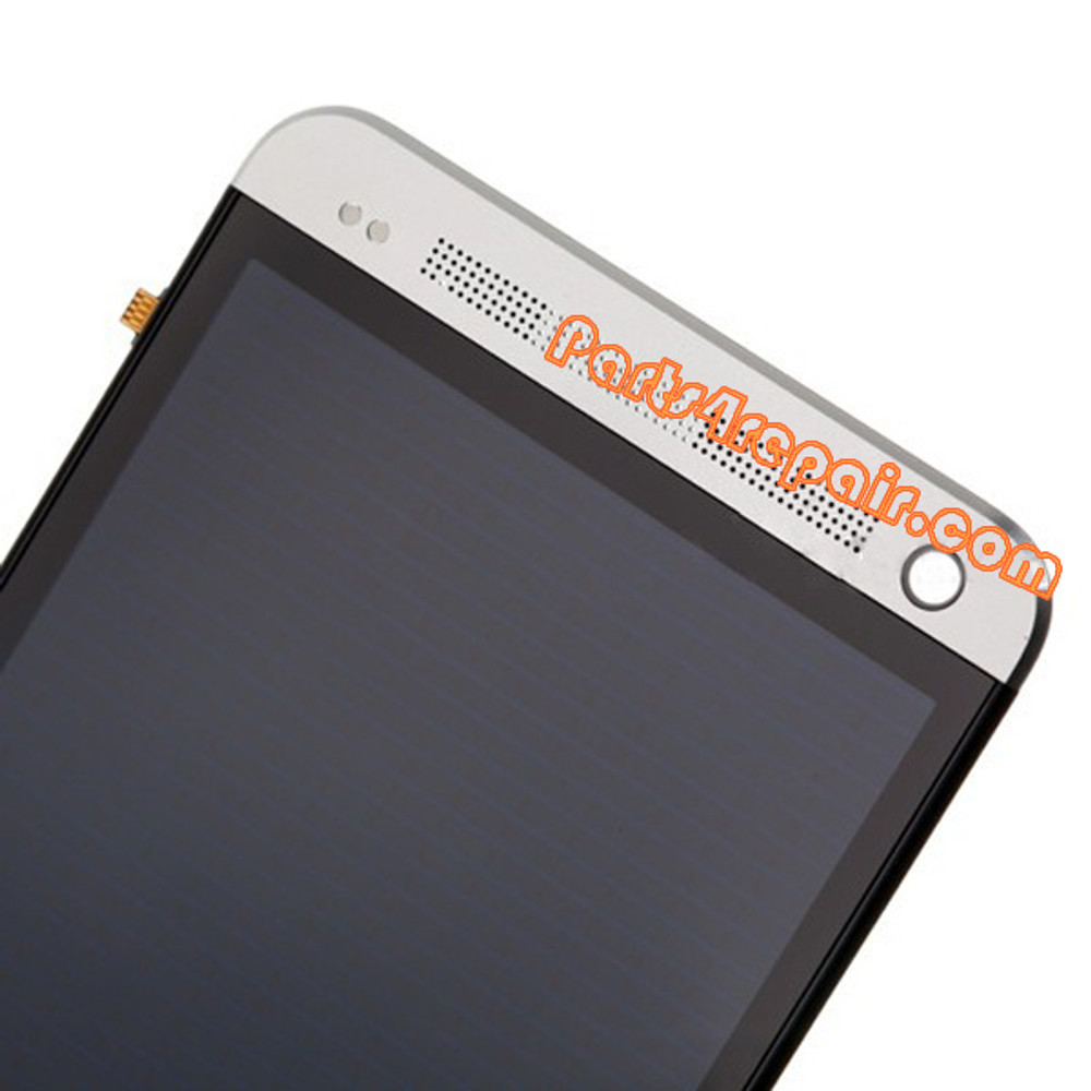 Complete Screen Assembly with Bezel for HTC One -White