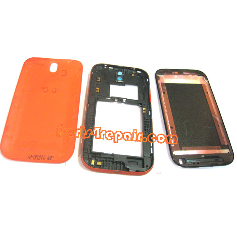 We can offer Full Housing Cover for HTC One SV -Red