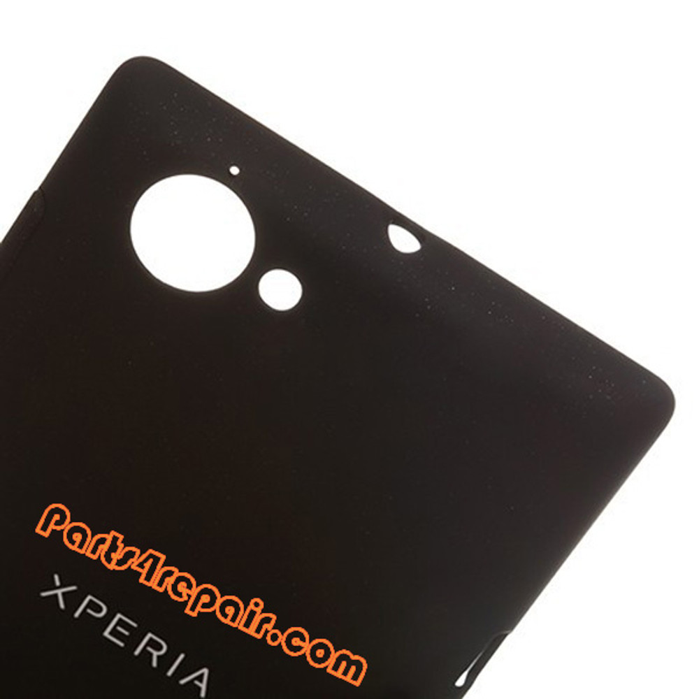 Back Cover for Sony Xperia L S36H -Black