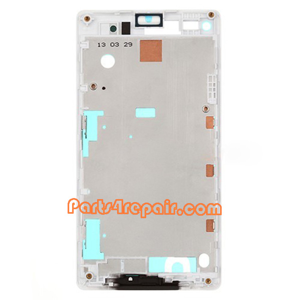 We can offer Front Cover for Sony Xperia L S36H -White