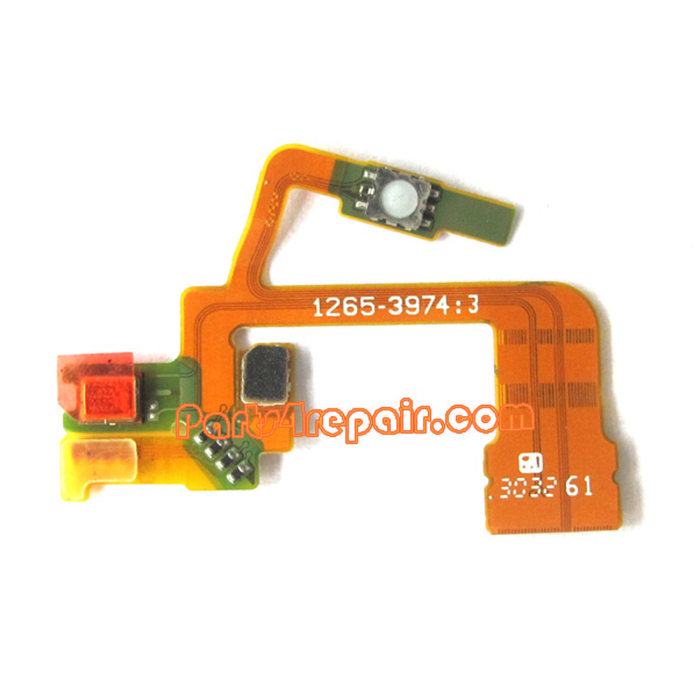 Camera Flex Cable for Sony Xperia ZL L35H from www.parts4repair.com