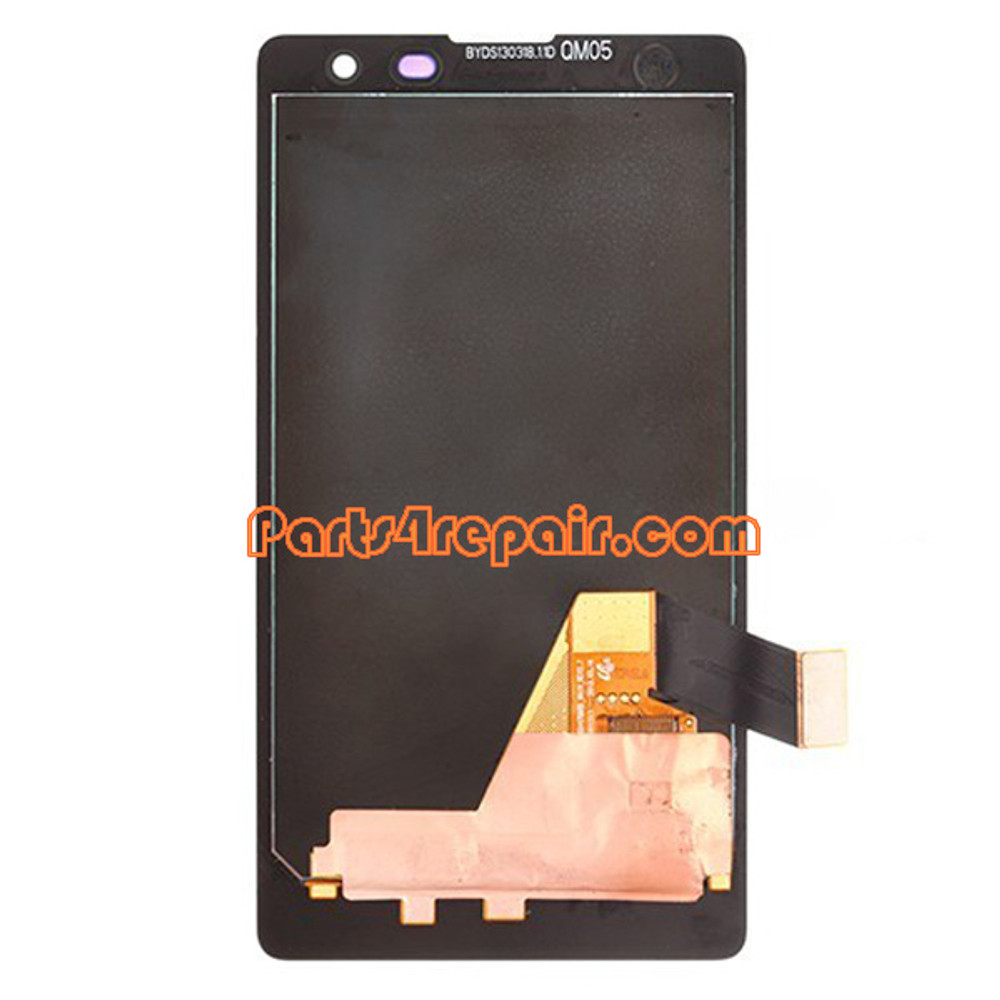 Complete Screen Assembly for Nokia Lumia 1020 -Black