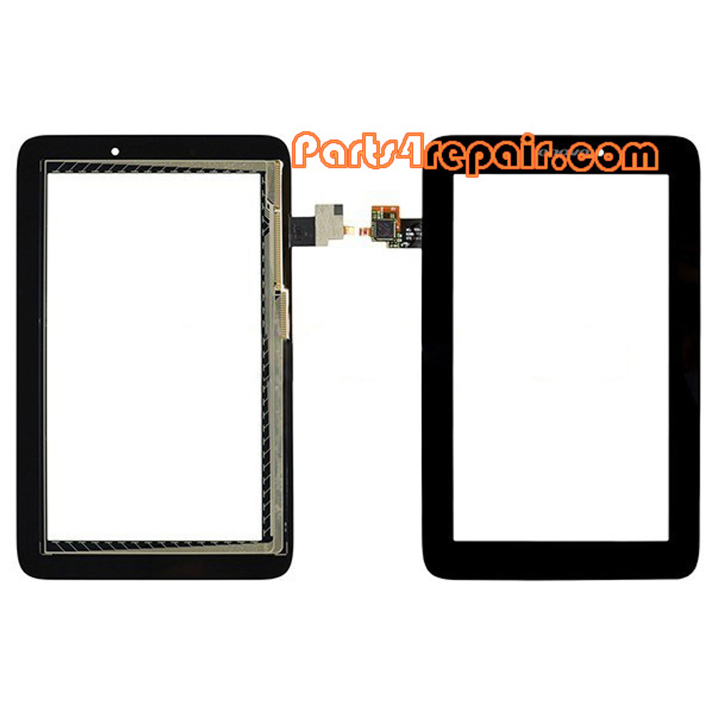Touch Screen Digitizer for Lenovo Idea Tab A2107 -Black from www.parts4repair.com