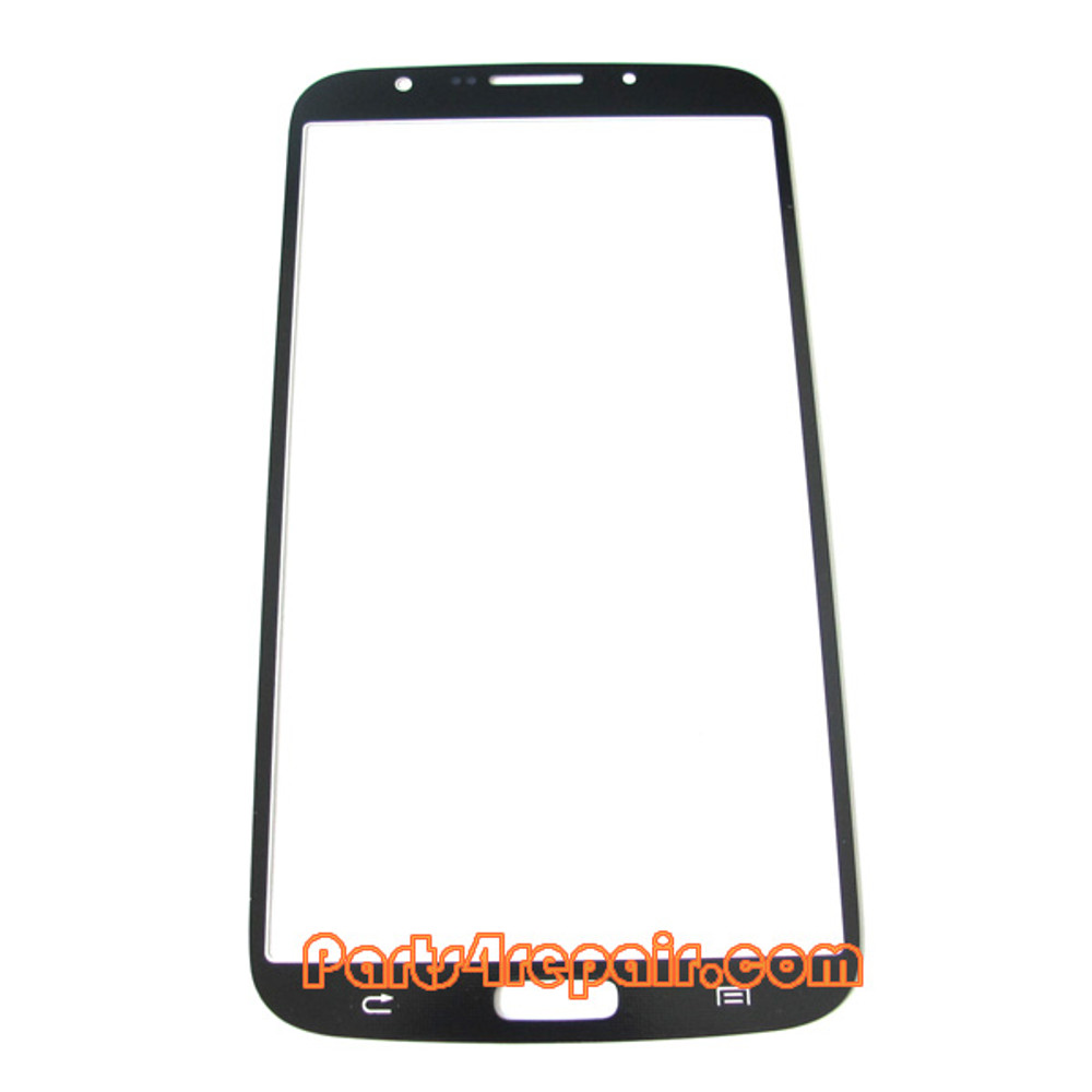 Front Glass Lens OEM for Samsung Galaxy Mega 6.3 I9200 -White