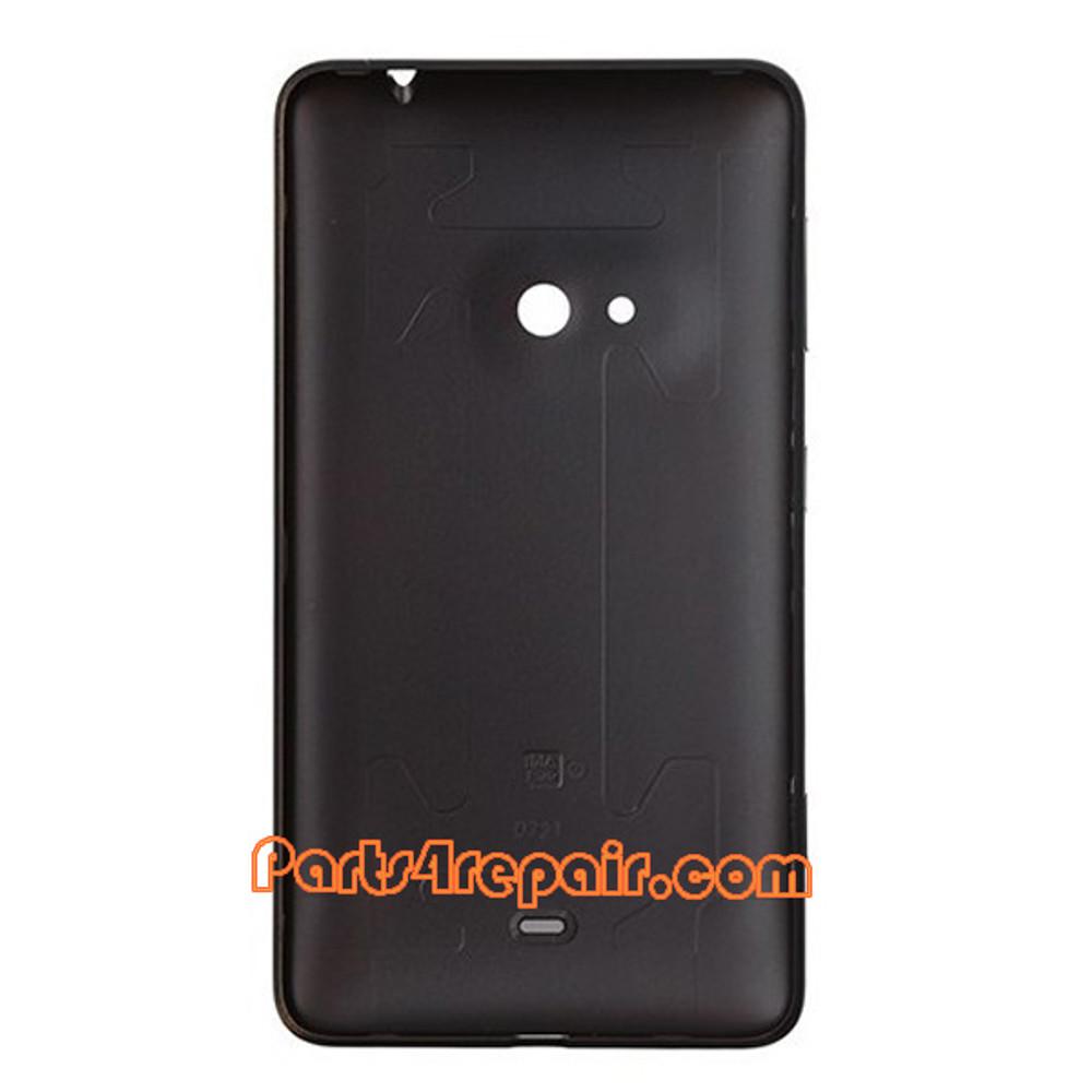 Back Cover for Nokia Lumia 625 -Black