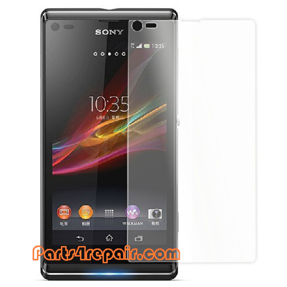 Clear Screen Protector Shield Film for Sony Xperia L S36H