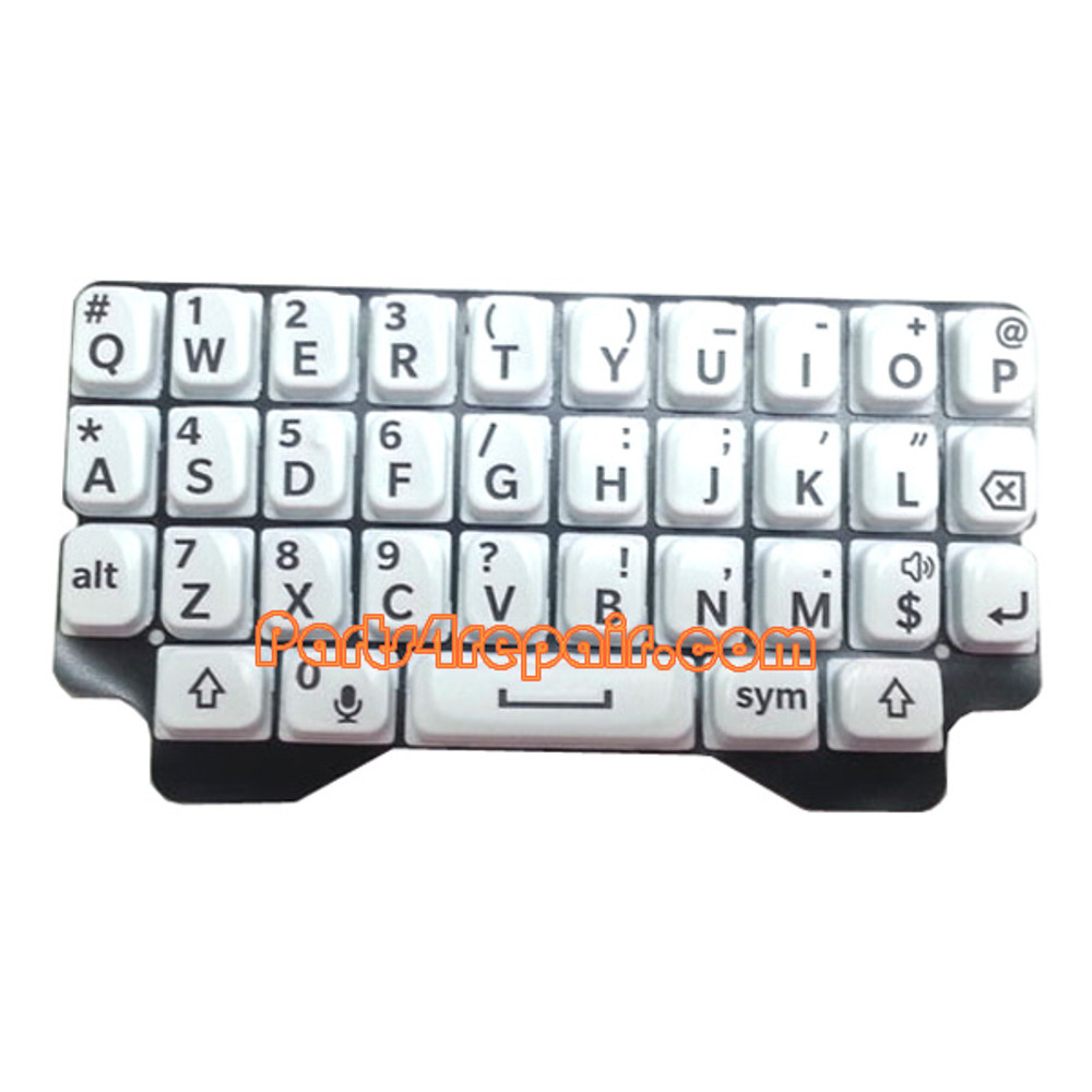 Keypad Membrane for BlackBerry Q5 -White from www.parts4repair.com