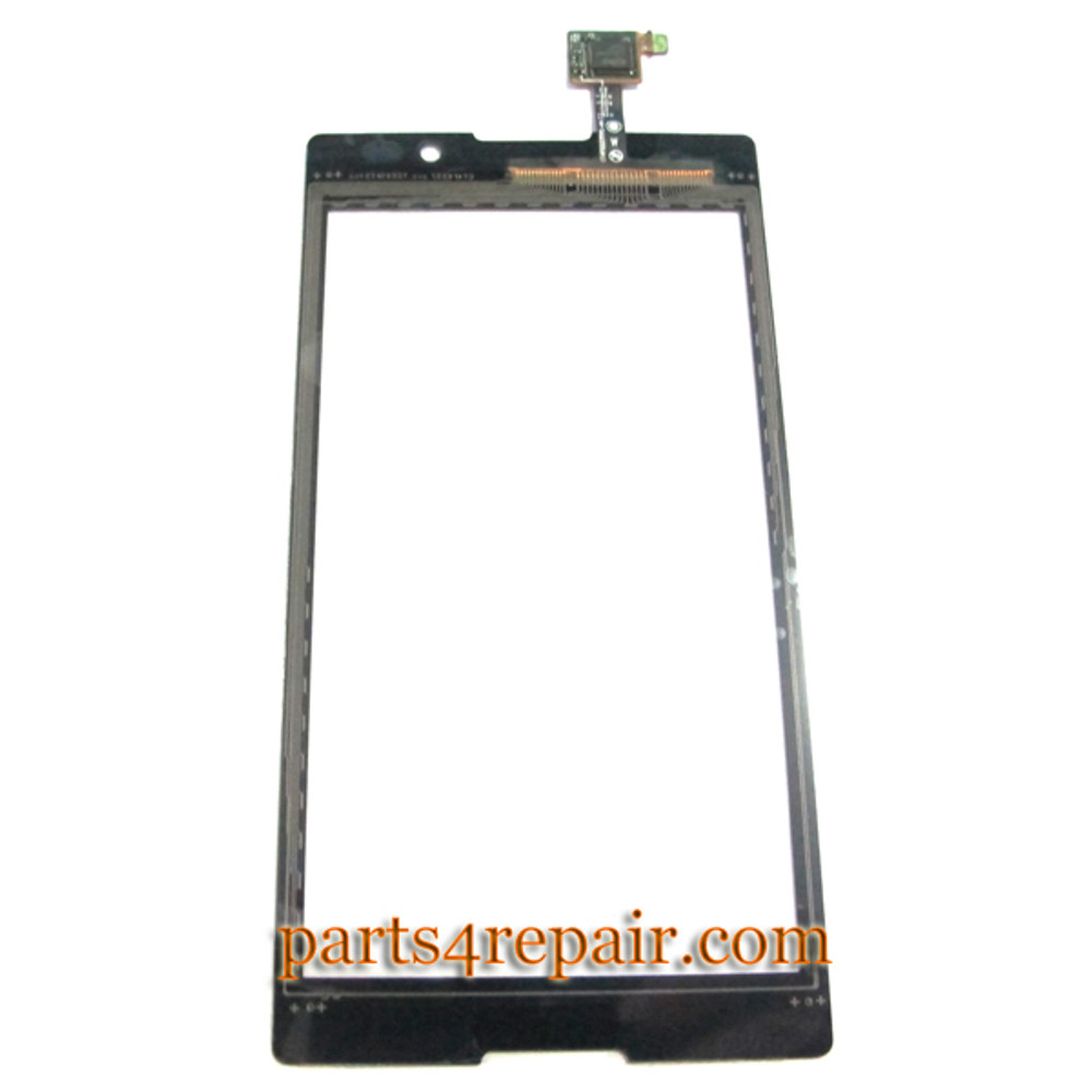 Touch Screen Digitizer for Sony Xperia C S39H -Black