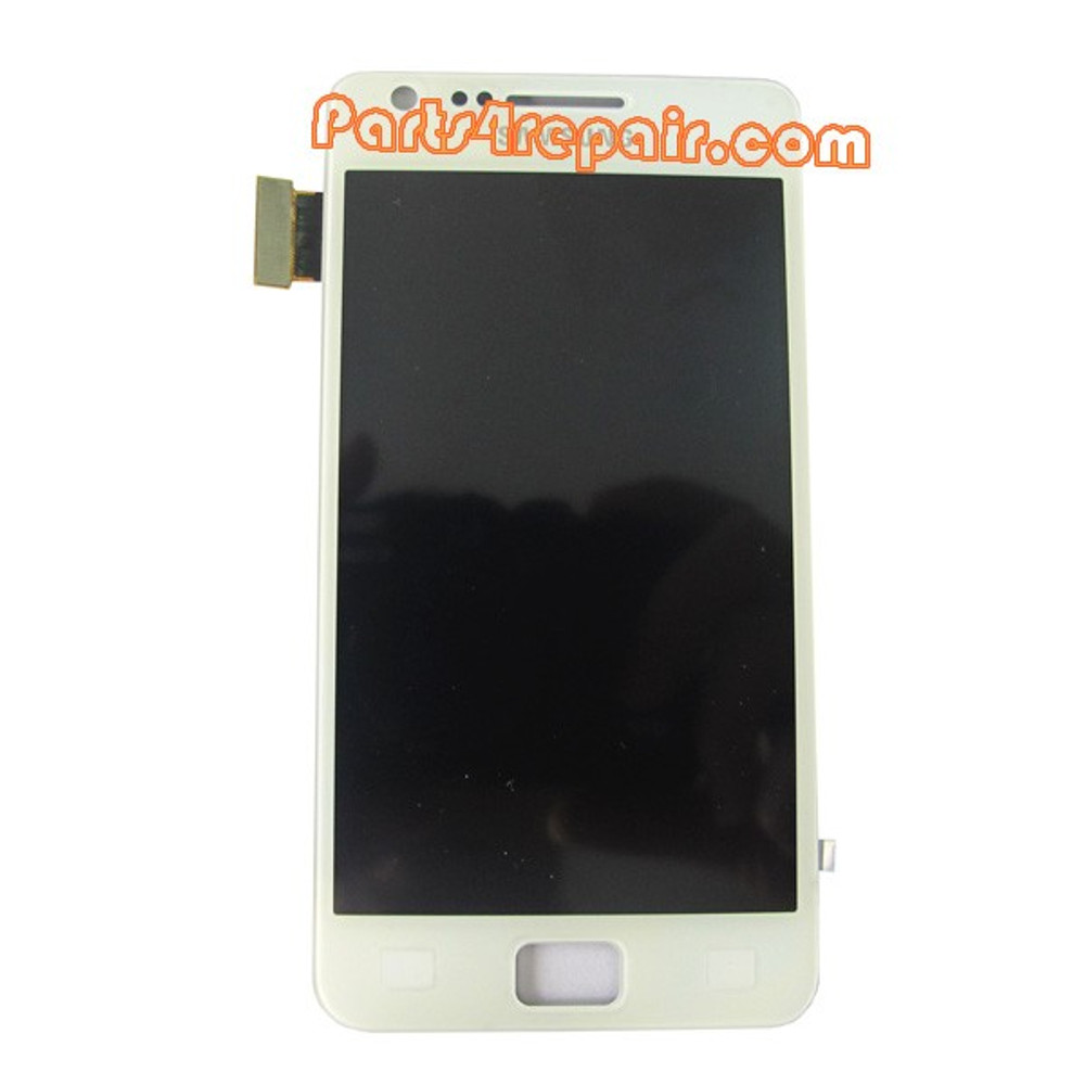 Complete Screen Assembly OEM for Samsung I9105 Galaxy S II Plus -White