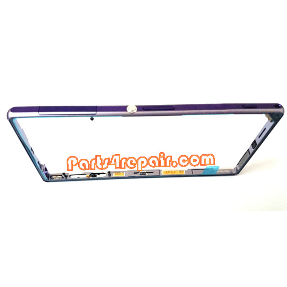 Middle Cover for Sony Xperia Z1 L39H -Purple