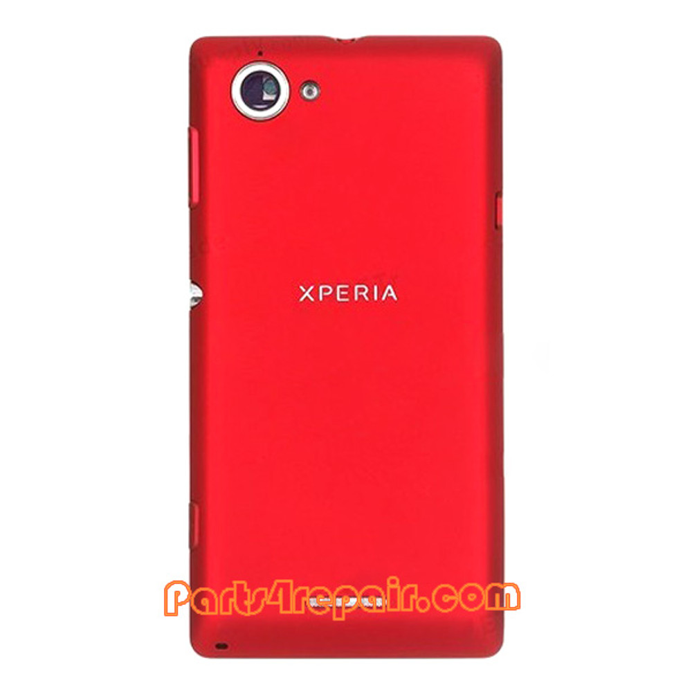 Full Housing Cover for Sony Xperia L S36H -Red