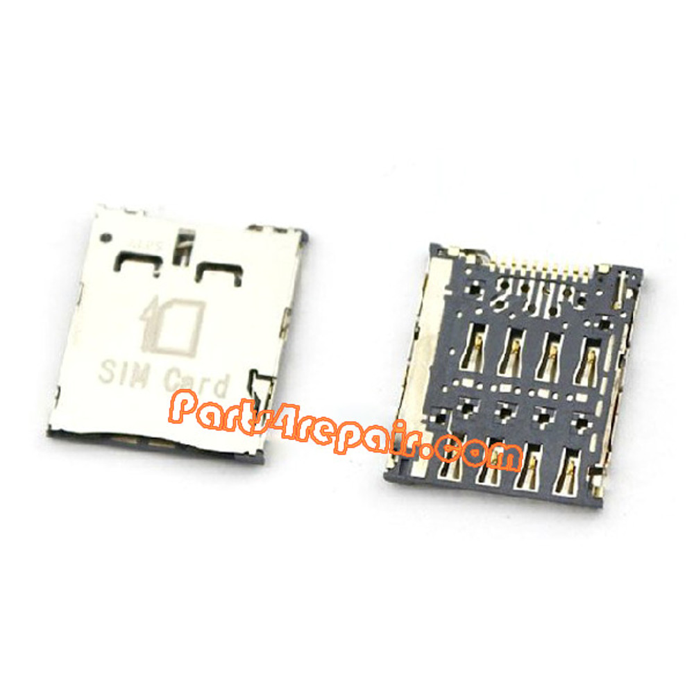 SIM Contact Holder for Samsung Galaxy S4 zoom C101 from www.parts4repair.com