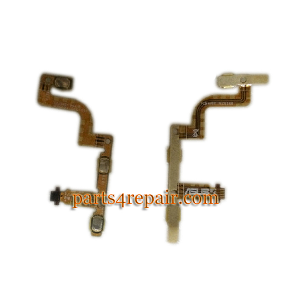 Power & Volume Flex Cable for Asus Transformer Pad TF300T from www.parts4repair.com
