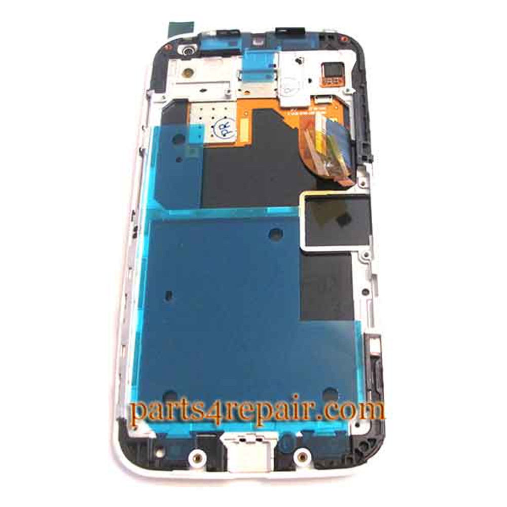 Complete Screen Assembly with Bezel for Motorola Moto X XT1058 -White