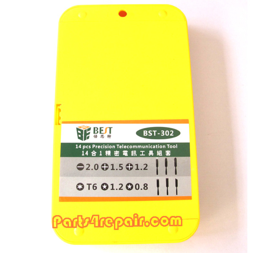 We can offer BST 302 14pcs in 1 Portable Screwdriver Kit for Macbook & Cellphone