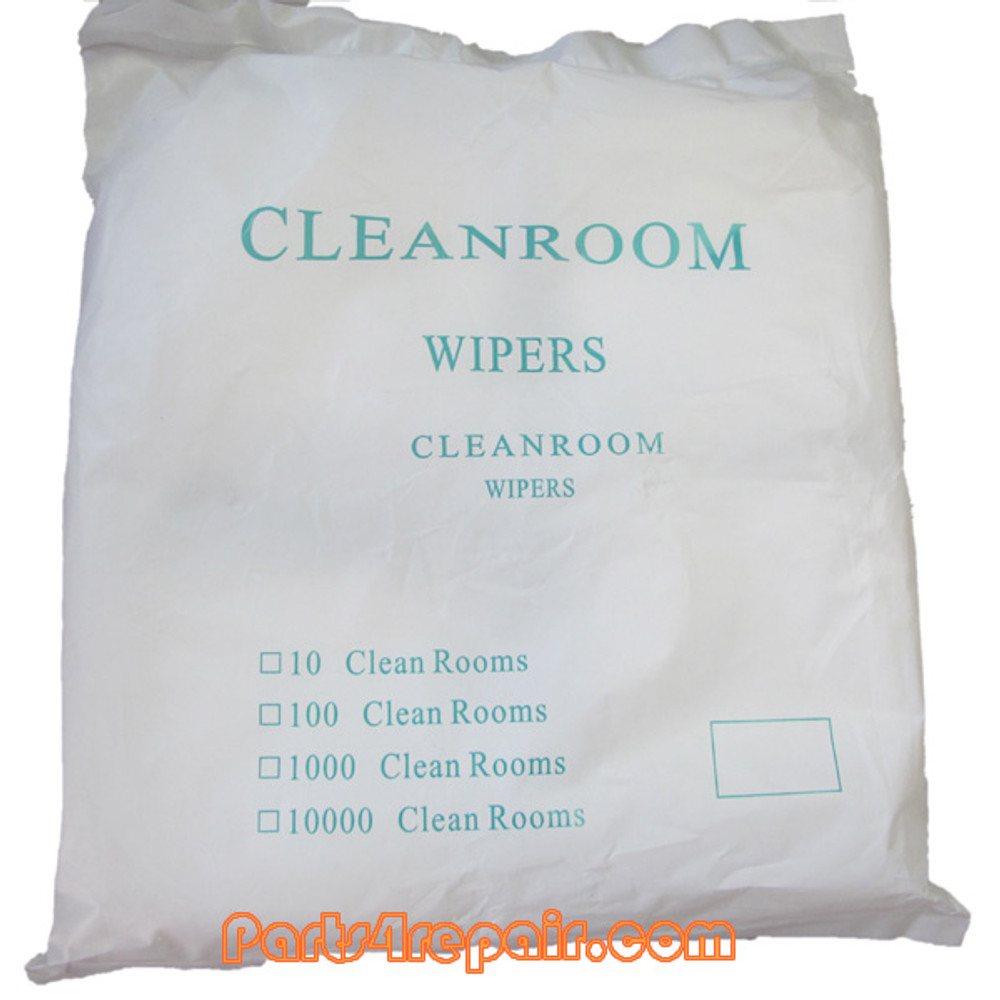 "400pcs 4""*4"" 3009D Soft Sub Microfiber Dustless Cloth Clean Room Wiper from www.parts4repair.com"