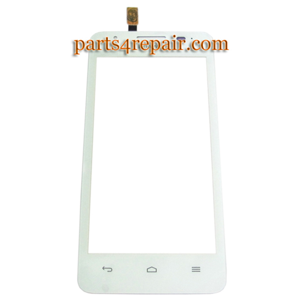 Touch Screen Digitizer for Huawei Ascend G510 U8951 -White from www.parts4repair.com