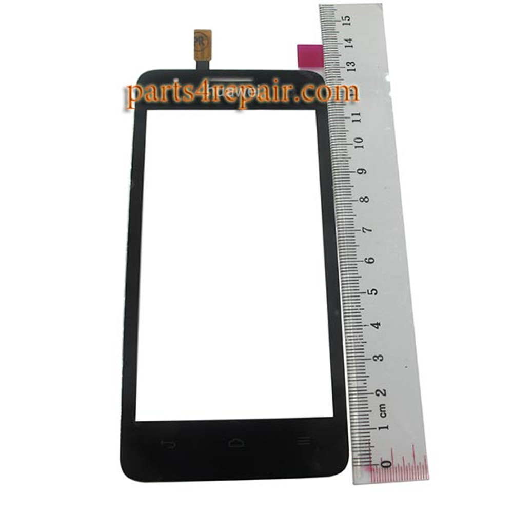 Touch Screen Digitizer for Huawei Ascend G510 U8951 -Black from www.parts4repair.com