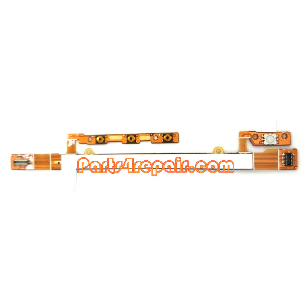 Side Key Flex Cable for Sony Xperia C S39H from www.parts4repair.com