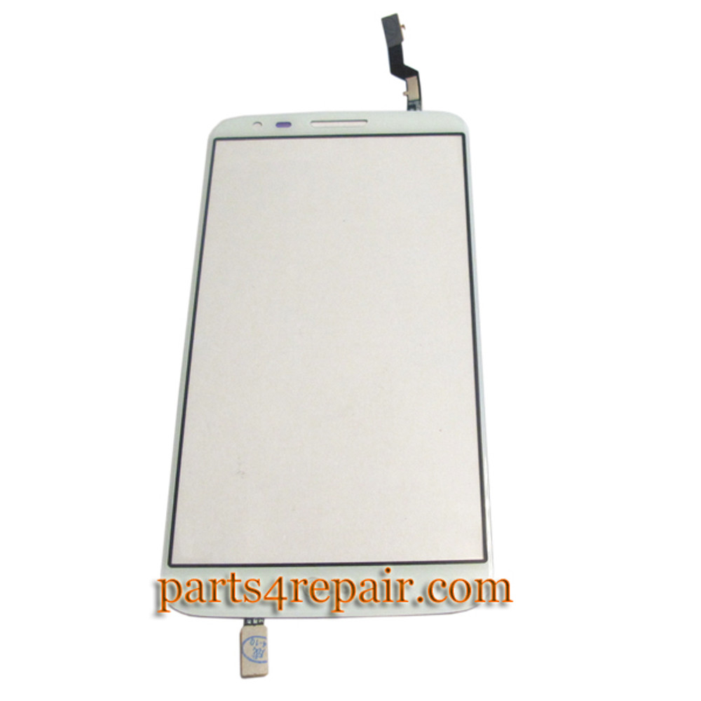 Touch Screen Digitizer for LG G2 D802 -White from www.parts4repair.com