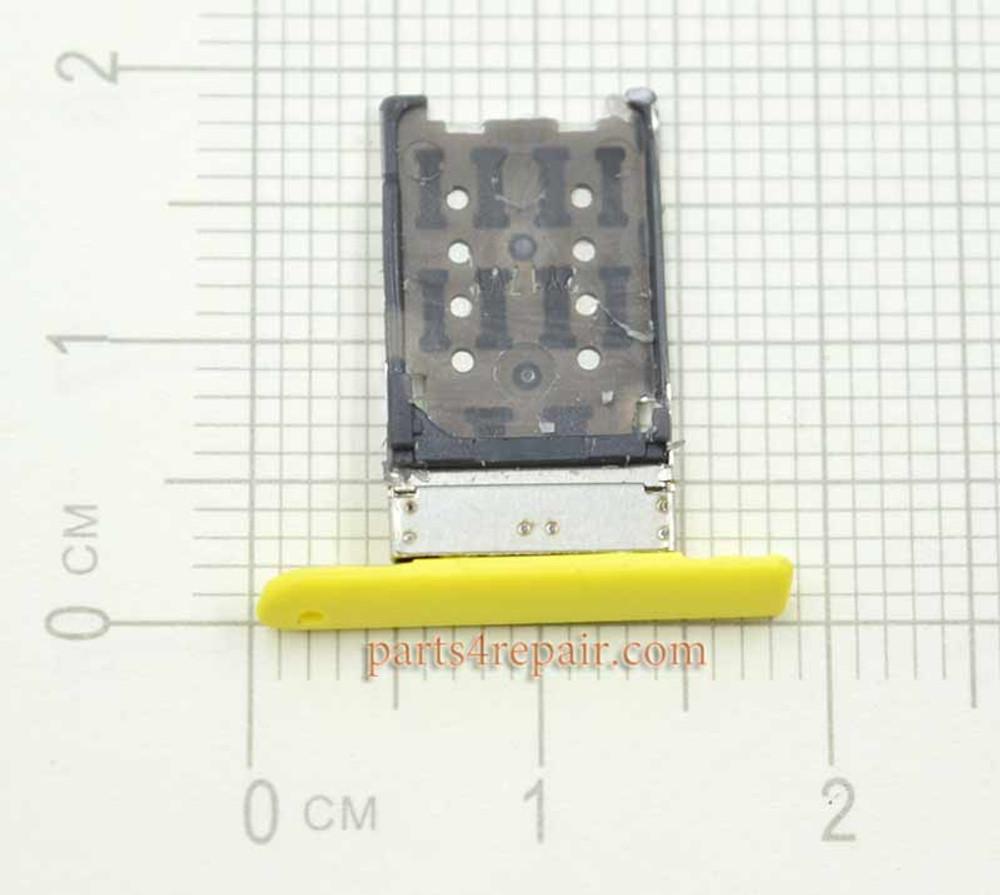 SIM Tray for Nokia Lumia 1520 -Yellow