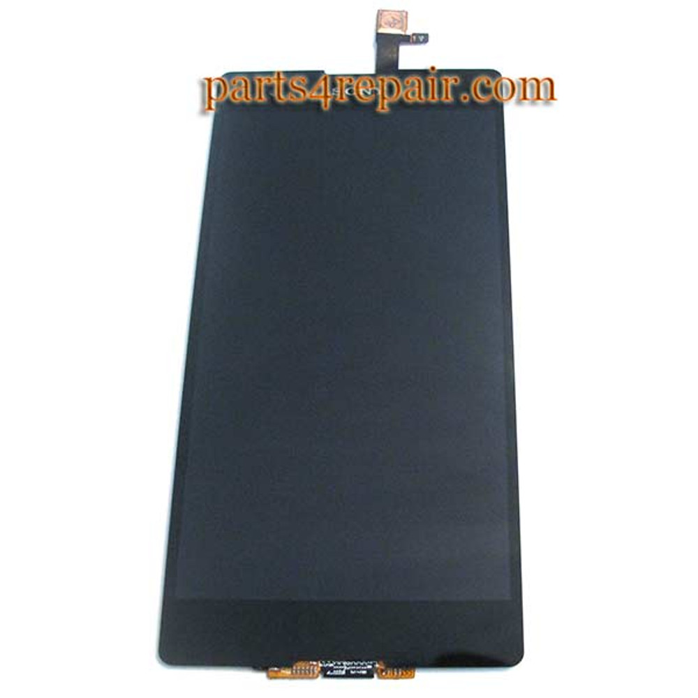 Complete Screen Assembly for Sony Xperia T2 Ultra xm50h -Black from www.parts4repair.com