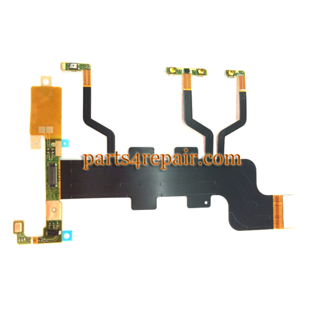We can offer Side Key Flex Cable for Sony Xperia T2 Ultra xm50h